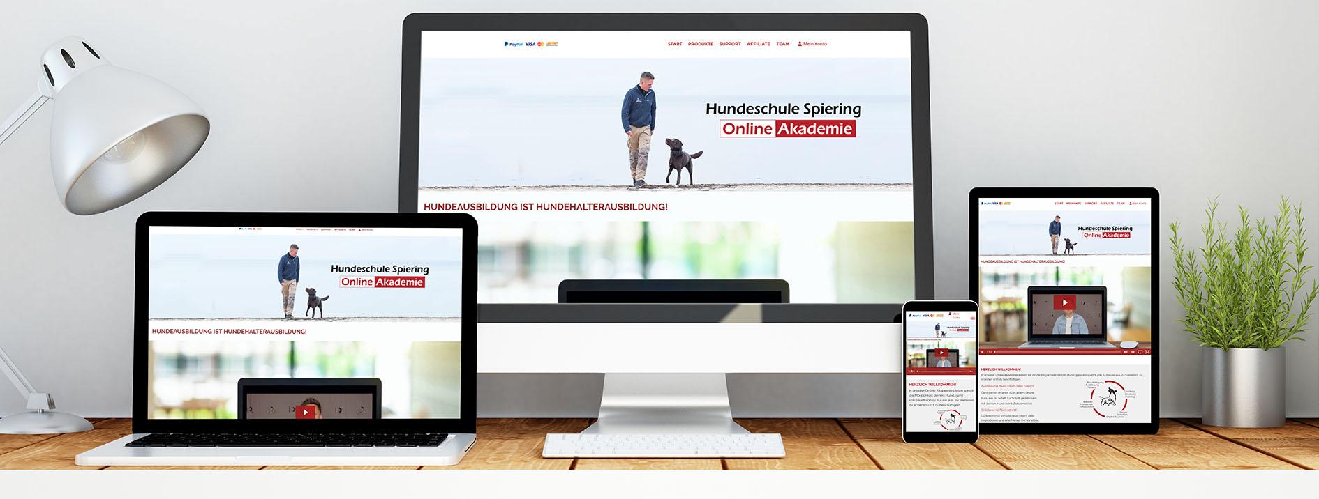 Hundeschule Spiering - Online Akademie