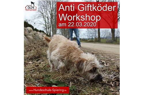 Anti Giftköder Workshop